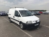PEUGEOT EXPERT 2.0 HDI WHITE VAN HPI CLEAR PX WELCOME