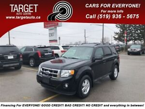 2012 Ford Escape XLT, 4x4, Leather, Roof, V6 and More **