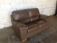 Leather couch for sale second hand good condition