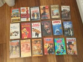 FREE Bundle of 15 VHS video films