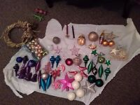 Christmas decorations..assorted