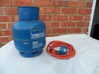 Calor Gas Bottle 4.5KG, Full with Regulator and Hose
