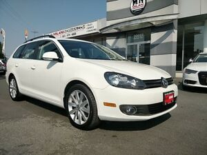 2013 Volkswagen Golf Wagon Highline TDI DIESEL ONLY 46, 000KMS