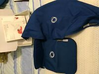 Bugaboo apron, hood and footmuff