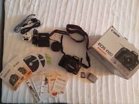 Canon EOS 450D 12.2MP Digital SLR Camera Black 8GB (Kit w/ EF-S 18-55mm Lens) +++