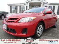 2011 Toyota Corolla CE $118.61 BI WEEKLY!!!