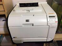 Used - HP LaserJet Pro 400 M451dn Laser Network Printer - Colour - Duplex includes toner
