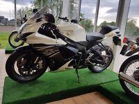 Suzuki GSXR600 L1 2014 GSXR 600 L 1 white black