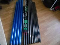 QUALITY USED FISHING POLES FOR SALE. FROM £175