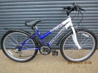 GIRLS REFLEX BIKE IN EXCELLENT CONDITION, IDEAL SCHOOL BIKE.. (SUIT APPROX. AGE. 9+)..