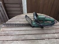 Hedge trimmer and garden blower/vac