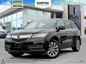2016 Acura MDX Nav Pkg AWD **Nav-Remote Start-Moonroof**