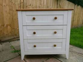 Mothercare white baby dresser / chest of drawers