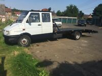 1997 Iveco Daily Crewcab Recovery Truck 17ft bed