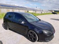 2006 VOLKSWAGEN GOLF 2.0 GT TDI 140 BHP 3 DOOR HATCHBACK BLACK GTI REPLICA 12 MONTHS M.O.T