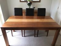 Dining Room Table & 6 chairs -£40 Ideal for upcycling!