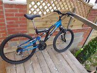 Vertigo Unisex Mountain Bicycle in new conditon