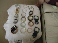 19 x assortment of ladies bangles