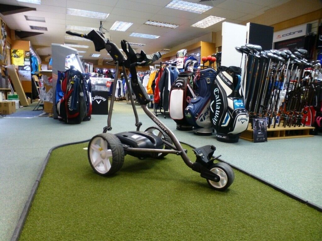 Used - Powakaddy Sport Electric Golf Trolley with Lithium Battery and  Charger | in Hamilton, South Lanarkshire | Gumtree