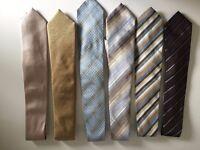 Mens Ties (selection of 6 ties)