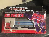 Authentic 1984 original G1 Optimus Prime