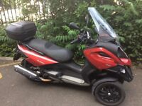 Gilera Fuoco, same as Piaggio MP3 500. Probably cheapest 500 three wheeler on gumtree.