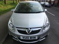2010 Vauxhall Corsa ecoflex 1.2 Diesel engine 5 doors, 2 owners, Good condition.