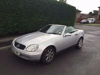 Mercedes-Benz SLK 2.3 Kompressor 2dr Convertible