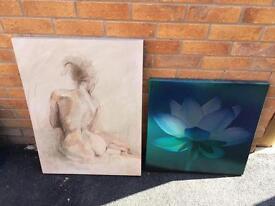 Next canvas's