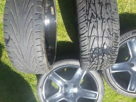 peugeot 206 low profile wheels with tyres