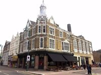 Waiter/Waitress required for busy East London Pub