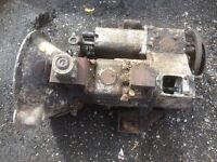 Landrover series 2 gearbox and transfer box