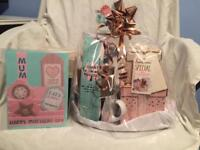 Mother's Day gift set and card