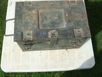 Strong Metal Tool Box (ammunition box)
