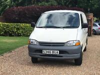 TOYOTA HIACE POWERVAN 2.4 D 2 OWNER FROM NEW