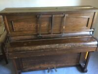 Free for uplift - Saffell piano. In need of TLC , a couple of keys not working .