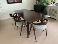Barker & Stonehouse Ercol Lugo dining table and chairs