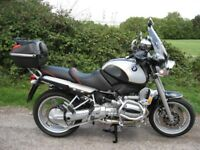 BMW R850R 2000 34852 miles..F.S.H .First Class Condition.