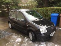 Great FIAT PANDA 1.1 petrol, 5 door, 59plate, Black