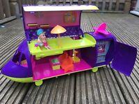 Polly pocket purple aeroplane