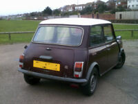 AUSTIN MINI CITY 1987 AUTOMATI C LONG MOTED CLASSIC CAR