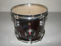 "DRUMS , DDrum 10"" Tom. / Metallic Red."