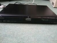 Panasonic Dvd recorder DMR-EX77, freeview, 160GB, black, HDMI
