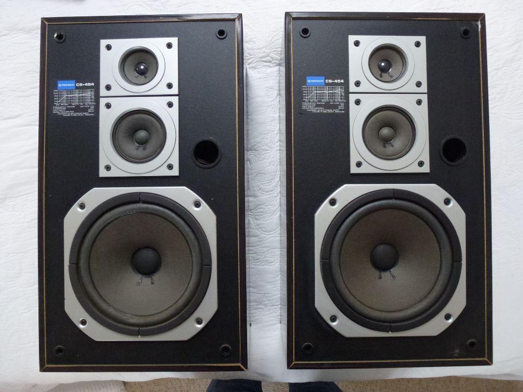 Pioneer Cs 454 3 Way Speakers In Arundel West Sussex