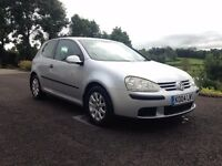2004 Volkswagen Golf TDI - silver - good condition inside and out