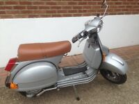 Lml Vespa 125 with dr 180 kit fitted in lovely condition must be seen!