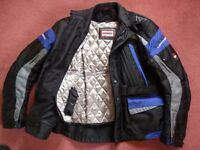 Scott Leathers Textile Jacket with Knox impact protectors