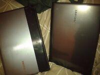 Samsung laptop x 2 faulty