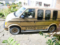 Chevrolet GMC Astro Starcraft Automatic;) like a cool bongo, stepwagon, vw caravelle or transporter