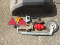 Assorted trailer parts